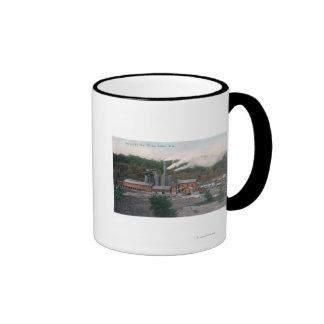 Exterior View of a Smelting Plant Coffee Mugs