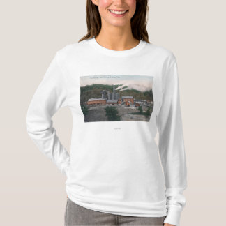 Exterior View of a Smelting Plant T-Shirt