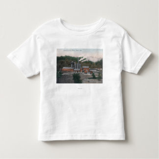 Exterior View of a Smelting Plant Toddler T-shirt