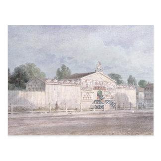 Exterior view of Astley's Amphitheatre, 1777 Postcard