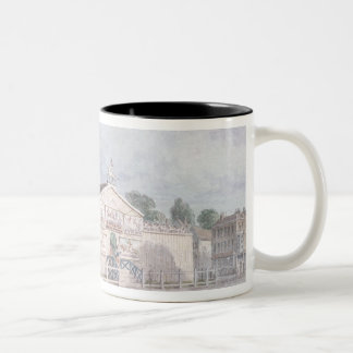 Exterior view of Astley's Amphitheatre, 1777 Two-Tone Coffee Mug