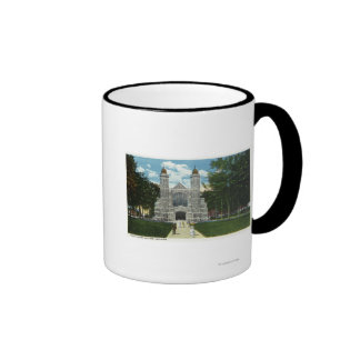 Exterior View of Bates College Chapel Mugs