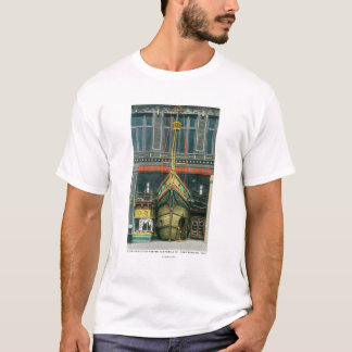 Exterior View of Bernstein's Fish Grotto on T-Shirt