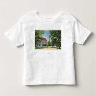 Exterior View of Boardman Hall and the Library Toddler T-shirt