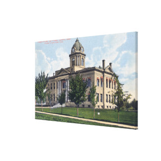 Exterior View of Canyon County Court House Canvas Print