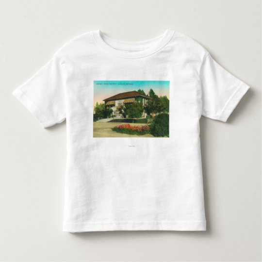 Exterior View of Carnegie LibraryLakeport, CA Toddler T-shirt