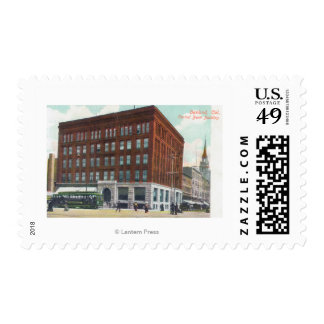 Exterior View of Central Bank BldgOakland, CA Postage