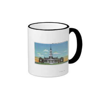 Exterior View of Colby College Miller Library Ringer Mug