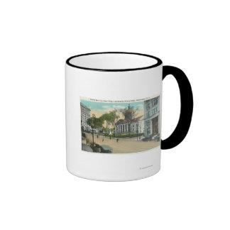 Exterior View of Court House Coffee Mug