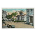 binghamton, new, york, exterior, view, court,