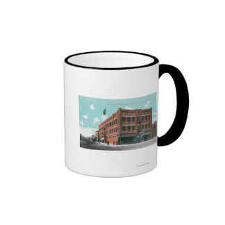Exterior View of Cunningham Hotel on Lewis St Mug