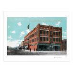 Exterior View of Cunningham Hotel on Lewis St Postcards