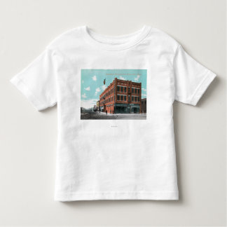 Exterior View of Cunningham Hotel on Lewis St Toddler T-shirt