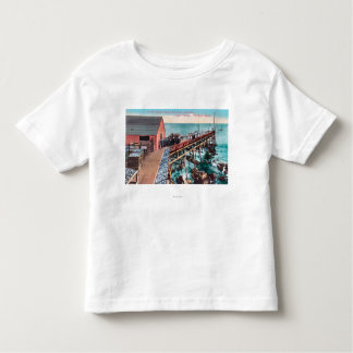 Exterior View of Del Monte Sardine Packing Toddler T-shirt