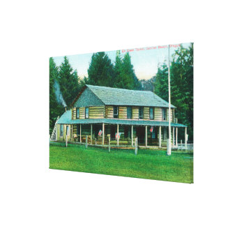 Exterior View of Elk Creek Tavern Canvas Print