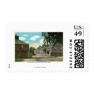 Exterior View of Fort Weston and Block House Postage