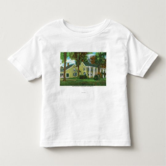 Exterior View of Gen Philip Schuyler's Mansion Toddler T-shirt