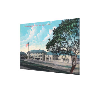 Exterior View of General Hospital Presidio Stretched Canvas Prints