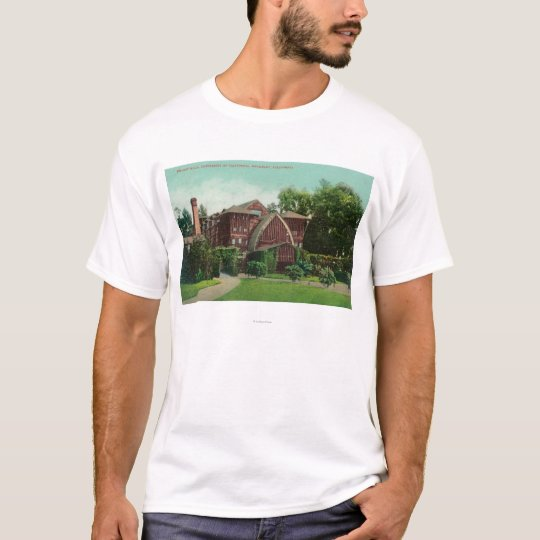 Exterior View of Hearst Hall, U of CA T-Shirt