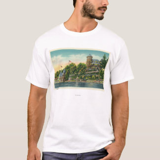 Exterior View of Hopewell Hall T-Shirt