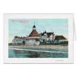 Exterior View of Hotel del Coronado from Pier Greeting Cards