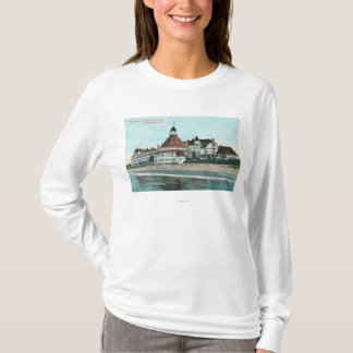 Exterior View of Hotel del Coronado from Pier T-Shirt