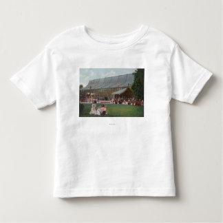 Exterior View of Idora Park Skating Rink Toddler T-shirt