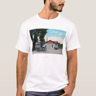 Exterior View of Jacinto CreameryWillows, CA T-Shirt