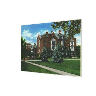 Exterior View of Josselyn Hall, Vassar College Canvas Print