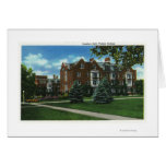 Exterior View of Josselyn Hall, Vassar College Greeting Card