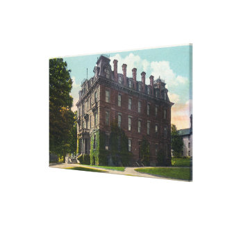 Exterior View of Judd Hall, Wesleyan University Canvas Print