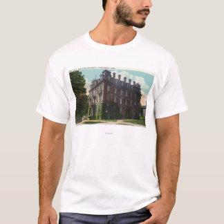 Exterior View of Judd Hall, Wesleyan University T-Shirt