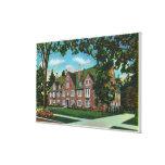 Exterior View of Kendrick Hall, Vassar College Canvas Print