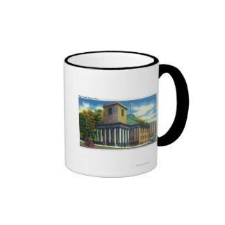 Exterior View of King's Chapel Coffee Mugs