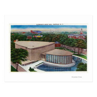 Exterior View of Kleinhan s Music Hall Postcards
