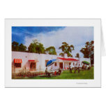 Exterior View of Los Serranos Golf & Country Greeting Cards