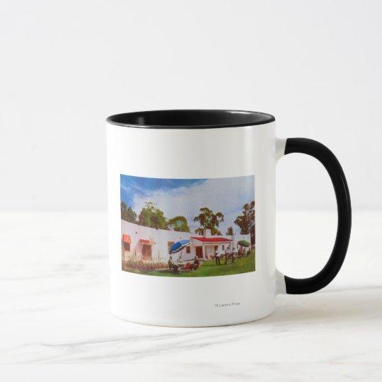 Exterior View of Los Serranos Golf & Country Mug