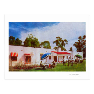 Exterior View of Los Serranos Golf Country Post Card