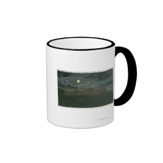 Exterior View of Mt Washington Hotel at Night Coffee Mugs