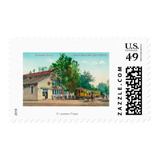 Exterior View of Northern Electric Depot Postage