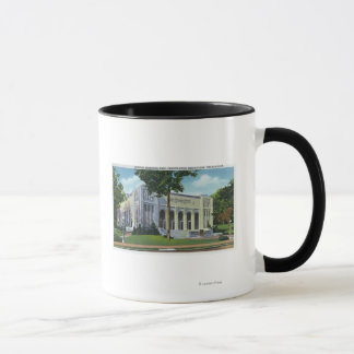 Exterior View of Norton Memorial Hall Mug
