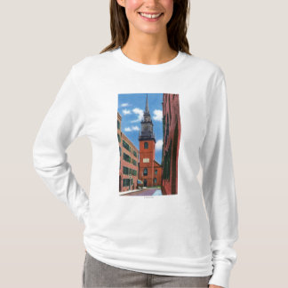 Exterior View of Old North Church T-Shirt