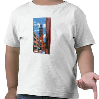 Exterior View of Old North Church Tshirts