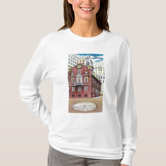 Exterior View of Old State House T-Shirt