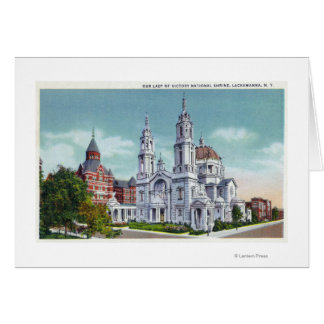 Exterior View of Our Lady of Victory Nat'l Card