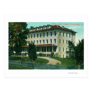 Exterior View of Pacific Union College Postcard
