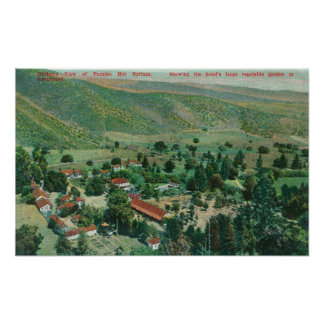 Exterior View of Paraiso Hot Springs and Gardens Posters