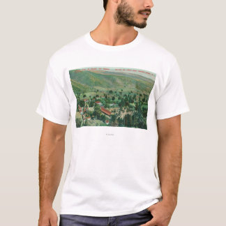 Exterior View of Paraiso Hot Springs and Gardens T-Shirt