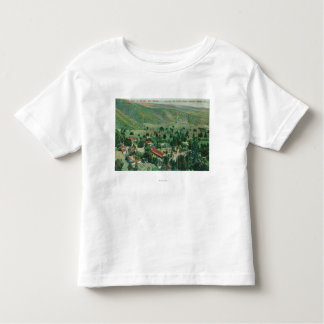 Exterior View of Paraiso Hot Springs and Gardens Toddler T-shirt