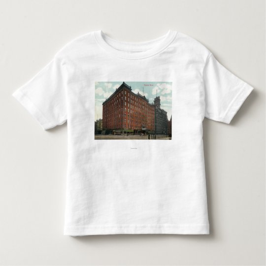 Exterior View of Powers Hotel Toddler T-shirt